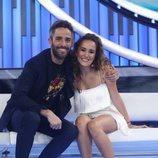 Marilia junto a Roberto Leal en la Gala 5 de 'OT 2018'