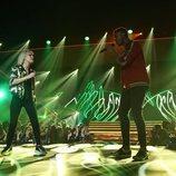 Alba Reche y Famous cantando en 'OT 2018'