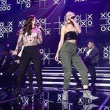 Noelia y María interpretan a dúo una canción en 'OT 2018'