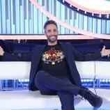 El presentador de 'OT 2018', Roberto Leal, en la quinta Gala