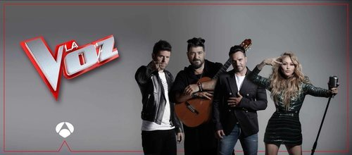 Todos los coaches de 'La Voz' en Antena 3
