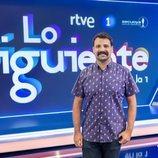 Ángel Carmona en el plató de 'Lo siguiente'