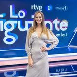 Ángela Ponce en el plató de 'Lo siguiente'