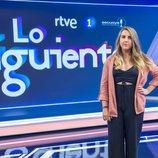 Carolina Iglesias en el plató de 'Lo siguiente'