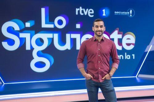 Juan Sanguino en el plató de 'Lo siguiente'