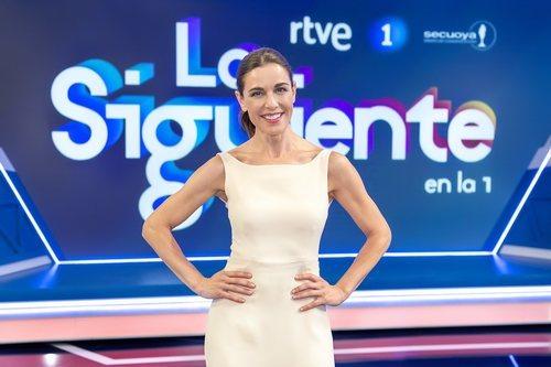 Raquel Sánchez Silva en el plató de 'Lo siguiente'
