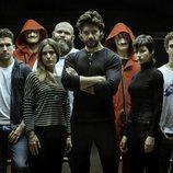 El elenco de 'La Casa de Papel', reunido para la tercera temporada