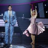 Carlos Baute imita a Nat King Cole en la gala 5 de 'Tu cara me suena'
