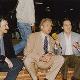 Iñaki Gabilondo junto a Luis del Olmo en una imagen de archivo para 'Imprescindibles'