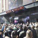 El público en el evento sorpresa de 'La Voz'