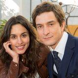Megan Montaner y Alessandro Tiberi juntos en el reparto de 'Lontano da te'