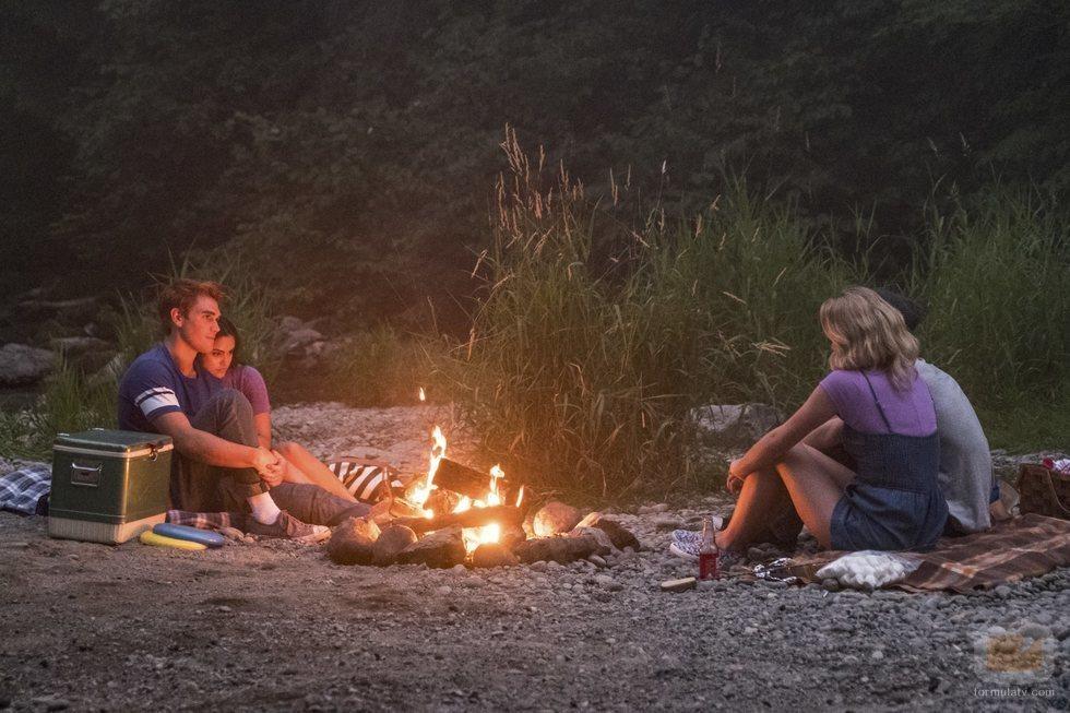 Los protagonistas de 'Riverdale' en la tercera temporada