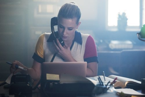 Lili Reinhart en la tercera temporada de 'Riverdale'