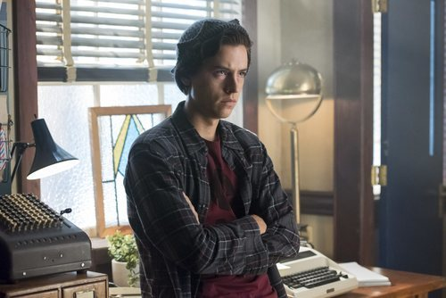 Cole Sprouse en la tercera temporada de 'Riverdale'