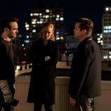Matt Murdock, Karen Page y Foggy en la tercera temporada de 'Daredevil'