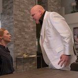 Karen Page y Wilson Fisk en la tercera temporada de 'Daredevil'