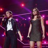 Julia y Noelia en su actuación de la Gala 6 de 'OT 2018'