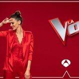 Eva González es la presentadora de 'La Voz'