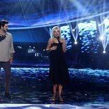 Manu Sánchez imitó a Álex Ubago junto a Melody en la gala 6 de 'Tu cara me suena'
