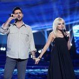 Manu Sánchez cantó junto a Melody en la gala 6 de 'Tu cara me suena'