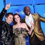 Matt Bellamy, Lindsay Lohan y Terry Crews, juntos en los EMAs 2018