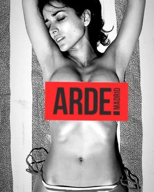 Inma Cuesta se desnuda por el estreno de 'Arde Madrid'