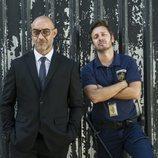 Carlos Sandoval y Hierro en la cuarta temporada de 'Vis a vis'