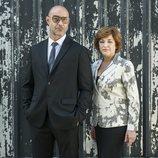 Carlos Sandoval y Magdalena Cruz en la cuarta temporada de 'Vis a vis'
