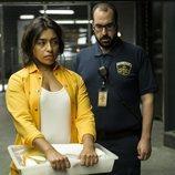 Alberto Velasco y Adriana Paz en la cuarta temporada de 'Vis a vis'