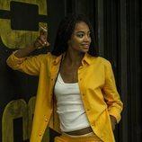 Berta Vázquez, Estefanía Kabila en 'Vis a vis', en la cuarta temporada