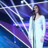 Marilia en su actuación de la Gala 7 de 'OT 2018'