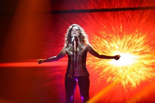 Noelia en su actuación de la Gala 7 de 'OT 2018'