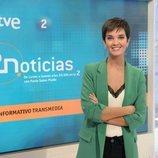 Paula Sainz-Pardo, presentadora de 'La 2 Noticias'