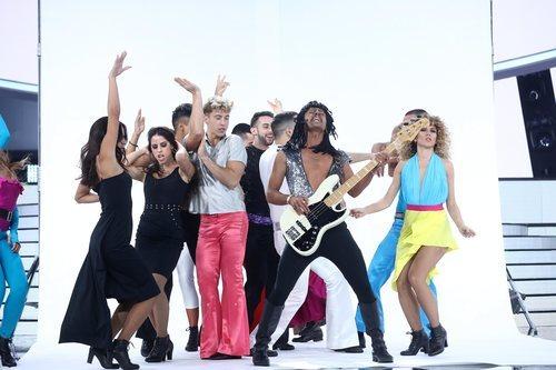 Jordi Coll en su actuación de la Gala 7 de 'Tu cara me suena'
