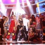 Mimi era Christina Aguilera en la Gala 7 de 'Tu cara me suena'