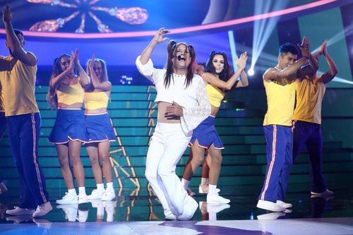 José Corbacho imitó a Melody en la Gala 7 de 'Tu cara me suena'