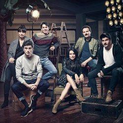 Primera imagen de los protagonistas de la serie 'Hache' de Netflix