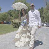 Una de las parejas de la primera entrega de 'Cuatro Weddings'