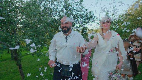 Una pareja celebra una boda celta en 'Cuatro Weddings'
