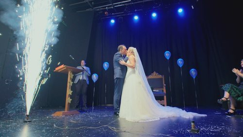 Una boda de película en 'Cuatro Weddings'