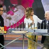 Torito le presenta un nuevo invento a Emma García en 'Viva la vida'