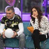 El Koala y Miriam en el sofá durante la Gala 9 de 'GH VIP 6'