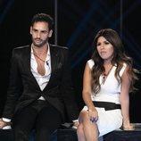 Asraf y Chabelita en la Gala 9 de 'GH VIP 6'
