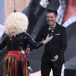 Ángel Garó y Aramís Fuster en la Gala 9 de 'GH VIP 6'