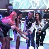 Los concursantes con Chabelita en la Gala 9 de 'GH VIP 6'