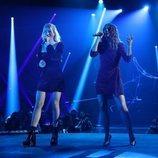 María y Sabela en su actuación de la Gala 8 de 'OT 2018'