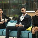 Aurah, Asraf y Mónica durante la Gala 10 de 'GH VIP 6'