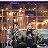 Chabelita Pantoja y Omar Montes durante la Gala 10 de 'GH VIP 6'