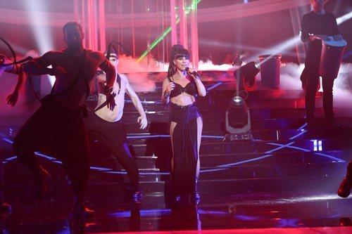 Soraya Arnelas imita a Rihanna en la Gala 8 de 'Tu cara me suena'