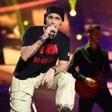 Carlos Baute imita a Eros Ramazzotti en la Gala 8 de 'Tu cara me suena'